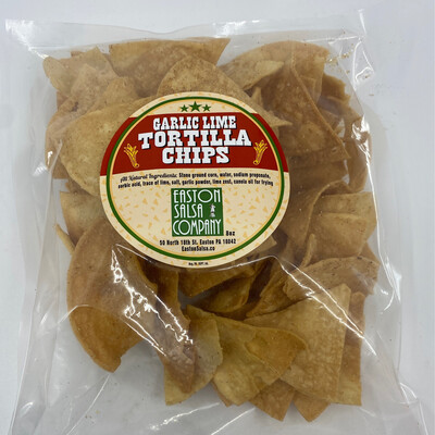 Easton Salsa Company tortilla Chips