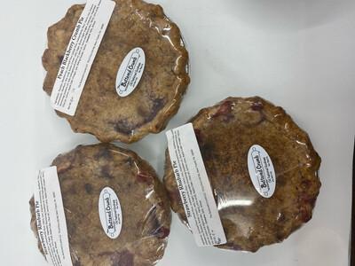 Buttered crumb seasonal fruit pie small PP