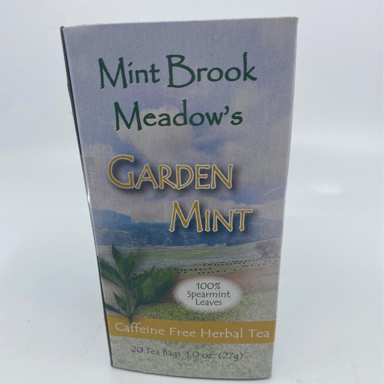 Mint Brook Meadow's Garden Mint caffeine free herbal tea