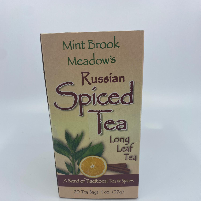 Mint Brook Meadow's Russian Spiced long leaf tea
