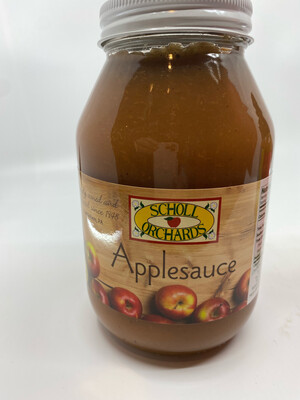Scholl Orchards Apple Sauce 32 ounce PP
