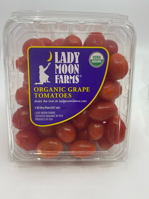Organic Lady Moon red grape Tomatoes pint