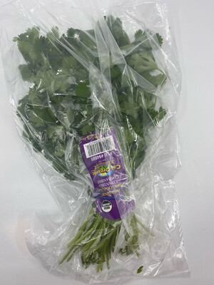 Organic parsley bunch