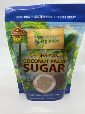 Tropical Green Organics Coconut Palm Sugar