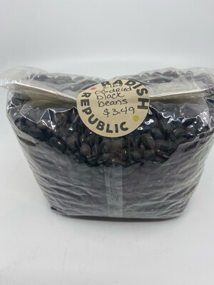 Organic dried black beans