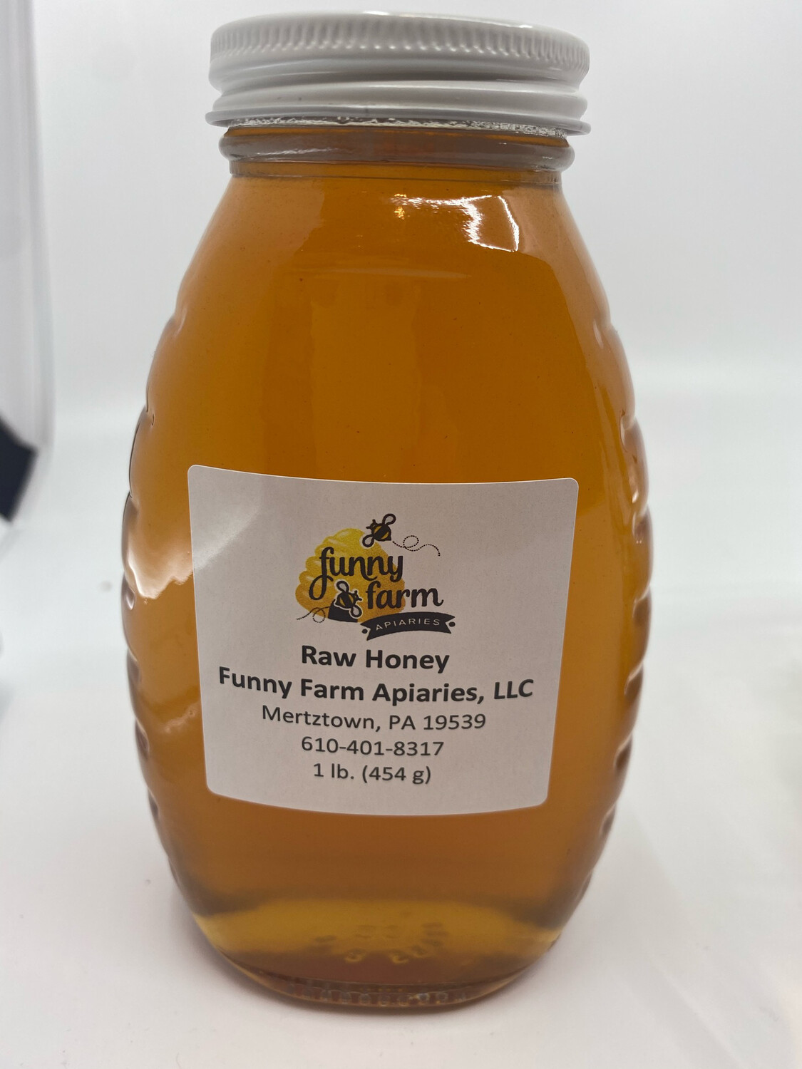 Funny Farm Apiaries PP raw honey 1 lb.
