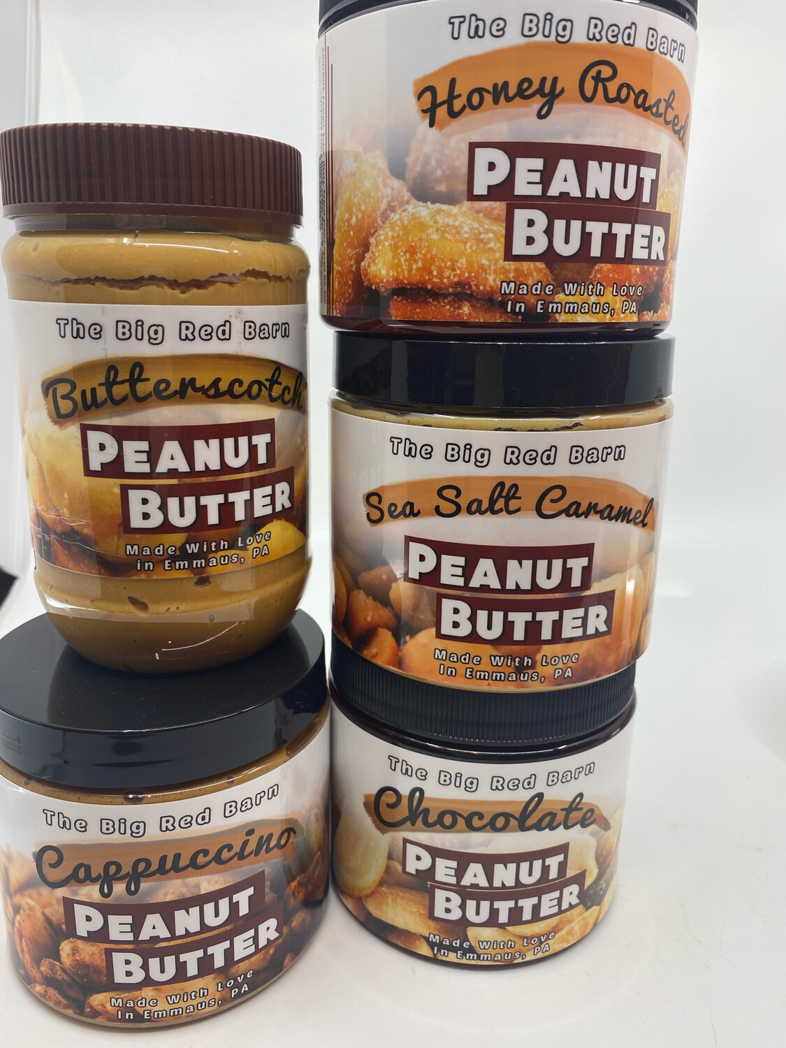 Big Red Barn flavored peanut butter PP
