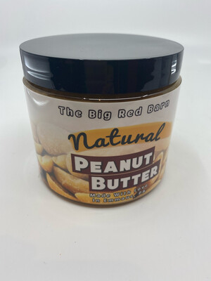 Big Red Barn natural peanut butter PP