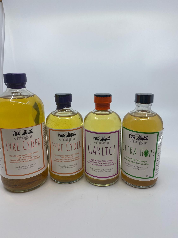 Vine Street Vinegar flavored vinegars PP