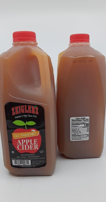 Zeigler, apple cider 1/2 gal gala blend