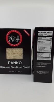 Sushi Chef panko bread crumbs