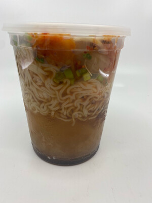 Radish Republic Basic Ramen heat and eat in 32 ounce microwaveable plastic cont.
