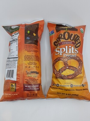 Unique Sprouted Splits Pretzels