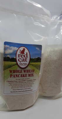 Red Cat Farm whole wheat pancake mix PP