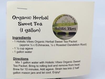Holistic Vibes - Herbal Sweet Tea kit - OG, Vegan, GF