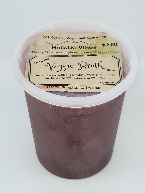 Holistic Vibes- Veggie Broth- OG, Vegan, GF