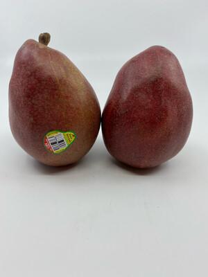 Organic red anjou pear (1 lb)