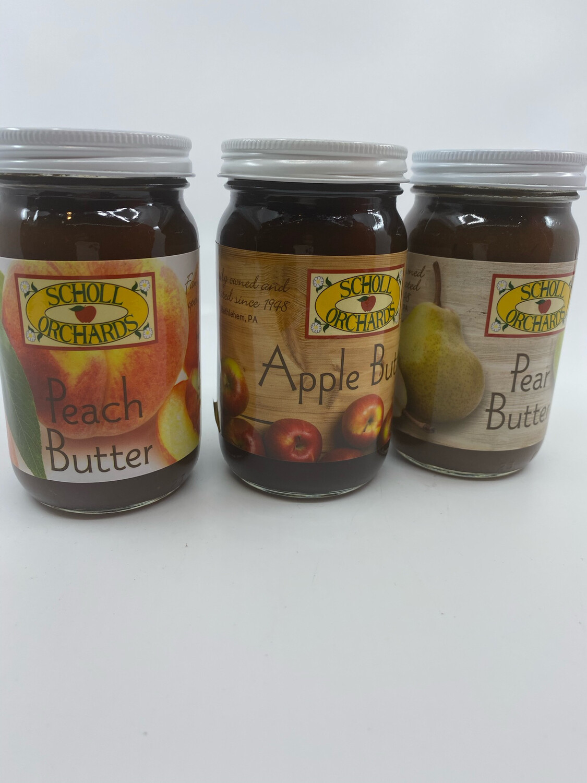 Scholl Orchards Fruit butter PP 9 ounces