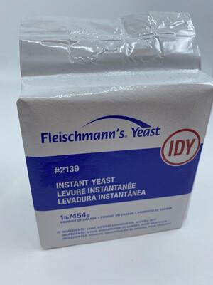 Fleischmann active dry yeast 1 lb package