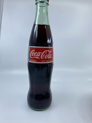 12 oz Coca Cola glass bottle