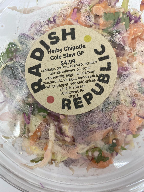Radish Republic Cilantro chipotle cole slaw 16 ounce