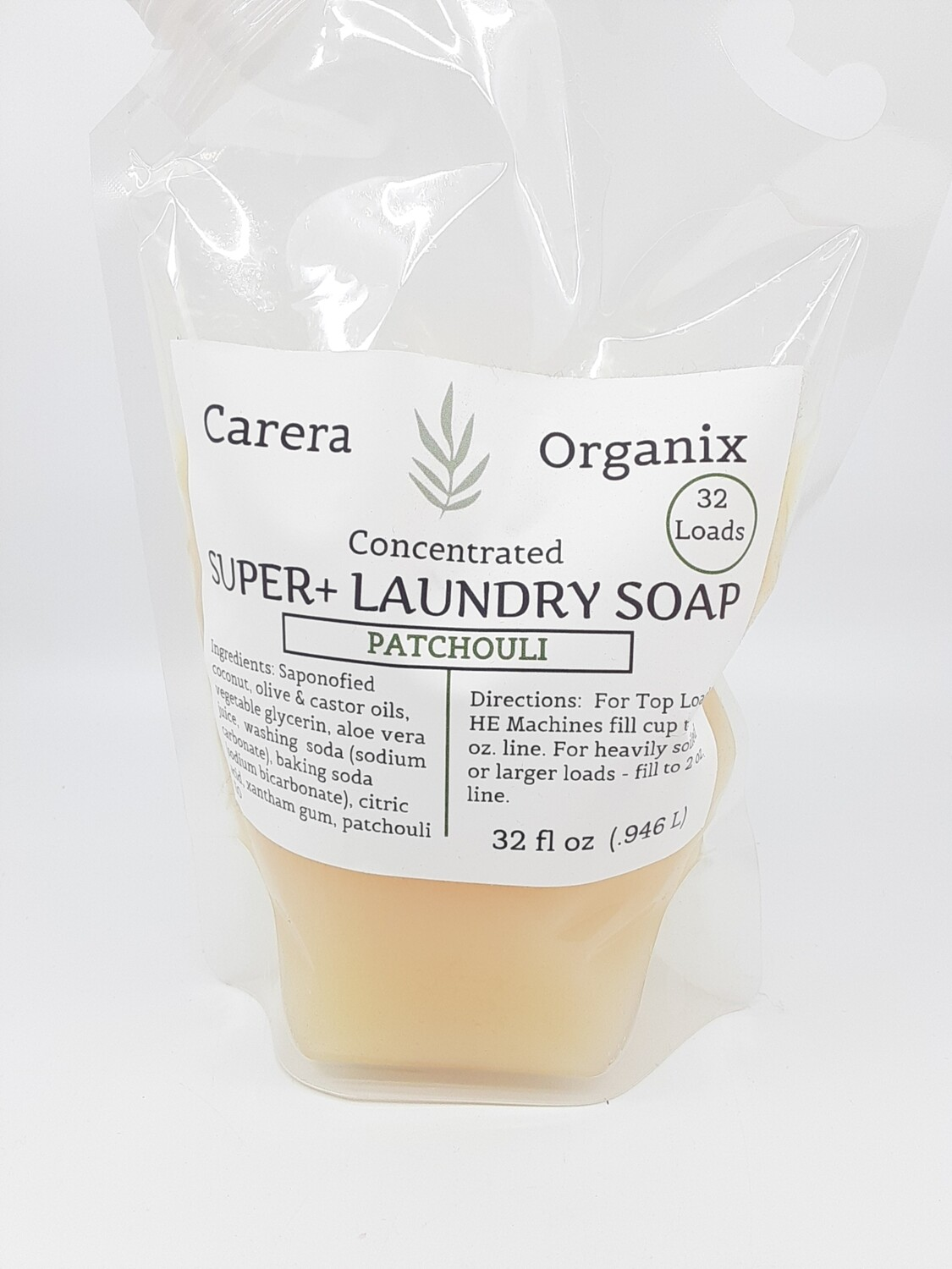 Carera Organix Super+ concentrated laundry soap choose size