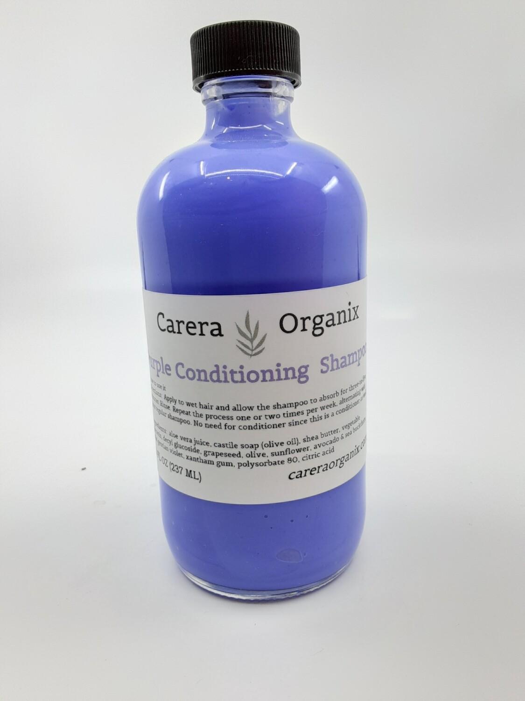 Carera Organix PP purple conditioning shampoo
