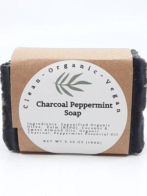 Carera Organix PP Charcoal Peppermint Soap Bar