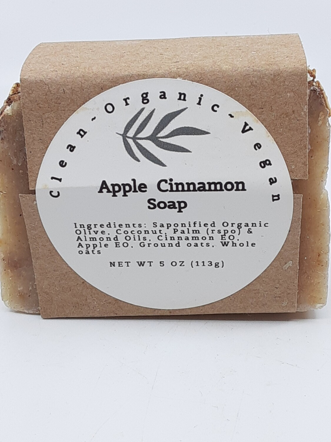 Carera Organix PP Vegan Apple Cinnamon Soap Bar
