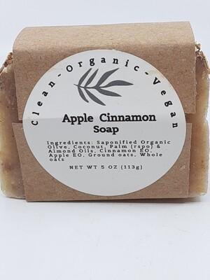 Carera Organix PP Vegan Apple Cinnamon Soap Bar