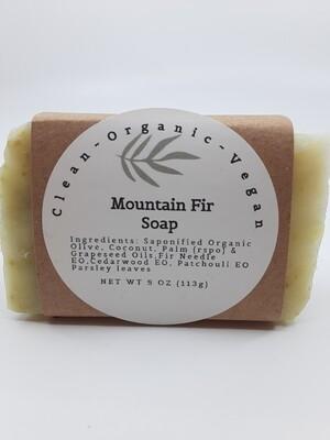 Carera Organix PP Mountain Fir Soap Bar