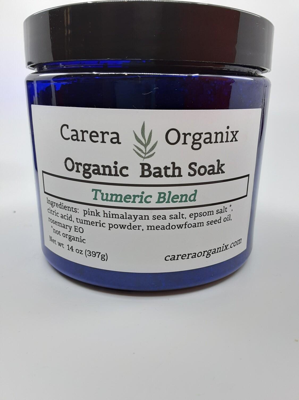 Carera Organix PP Bath Soak Turmeric Blend