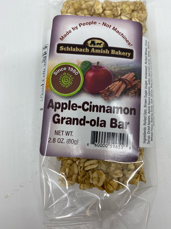 Schlabach Amish Bakery Apple Cinnamon Granola Bars