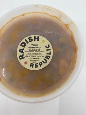 Radish Republic Vegan wheat berry chili (16 ounce)
