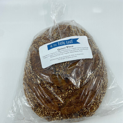 Daily Loaf PP quinoa wheat sourdough bread