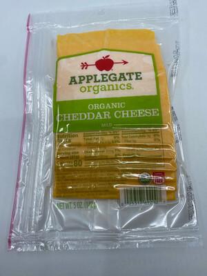 Applegate Organics sliced mild cheddar cheese 6 ounces