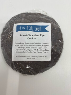 Daily Loaf PP salted chocolate rye cookie