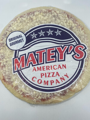 """Matey's Pizza  PP 12"""" original"""