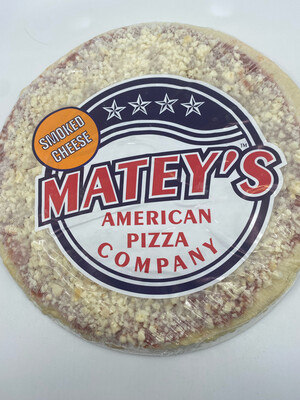 """Matey's pizza PP frozen smoked cheese 12"""""""