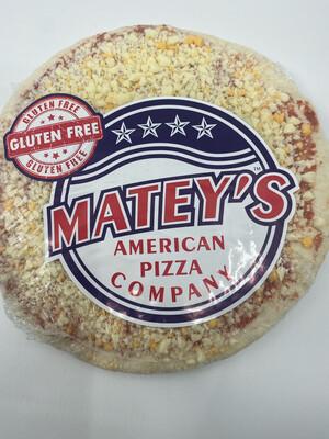 """Matey's pizza PP 9 """" gluten free"""