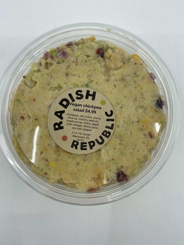 Radish Republic Vegan Chickpea salad (8 ounce container)