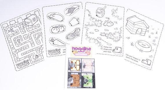 Noggins Activity Sheet Set