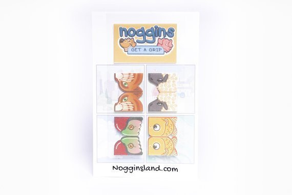 Noggins 4-Pack Stickers