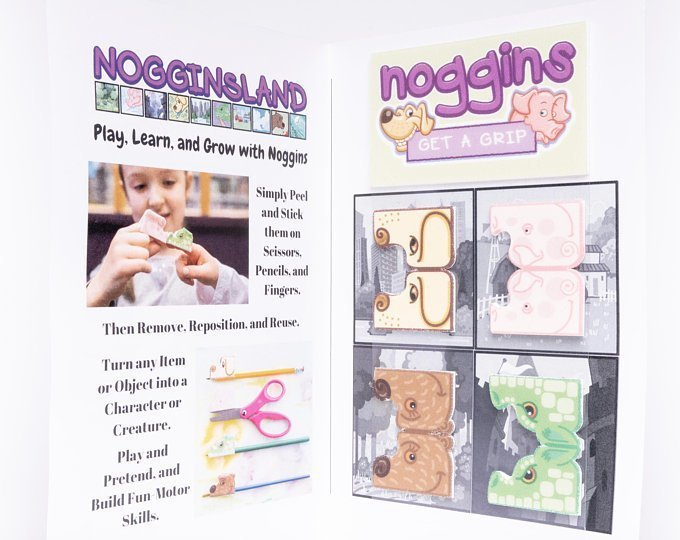 Noggins 8-Pack Stickers
