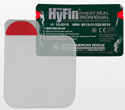 The HyFin® Chest Seal (set of 2)