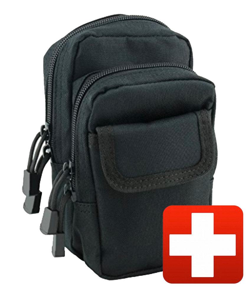 """Tactical Desk Bag """"Fully Loaded"""" w/QuikClot, Tourniquet, Seals, Gauze, Tape"""