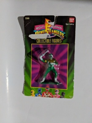 Mighty Morphin Green Power Rangers Collectible figure