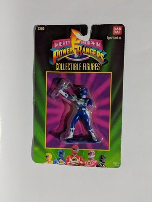 Mighty Morphin Blue Power Rangers Collectible figure