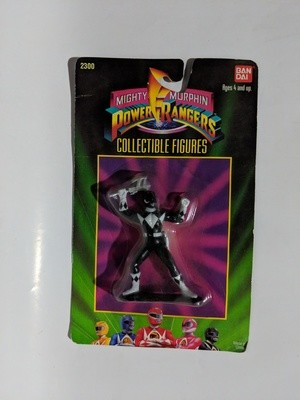 Mighty Morphin Black Power Rangers Collectible figure