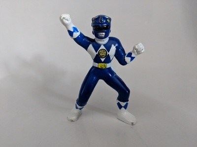 Mighty Morphin Power Rangers collectible figures Blue Ranger